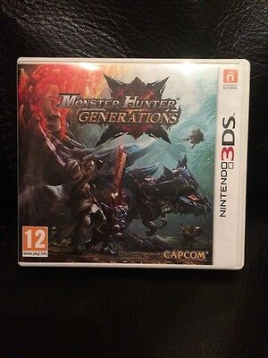 Monster Hunter Generations Nintendo 3DS NO GAME CASE ONLY