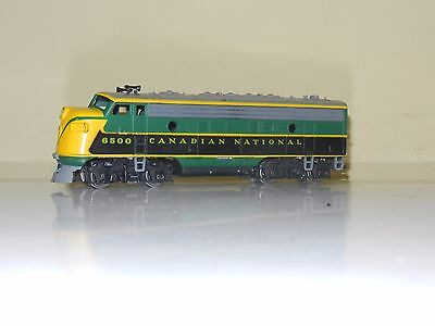Athearn Powered F7 Canadian National Cn Engine Locomotive Ho Scale Excellent