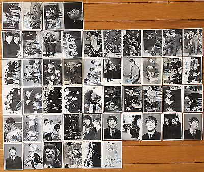 1964 Topps Beatles Black COMPLETE 3RD SERIES  VG A7484 BUBBLE GUM CARDS FAB 4