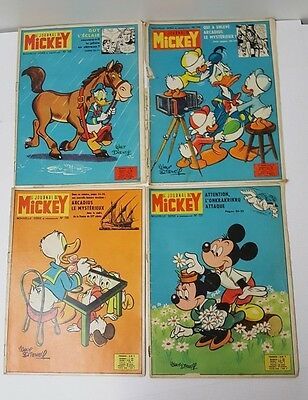 Lot De 4 Journal De Mickey  N° -737-739-742-745