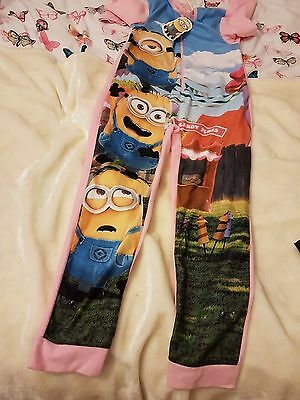 Girls minion all in one