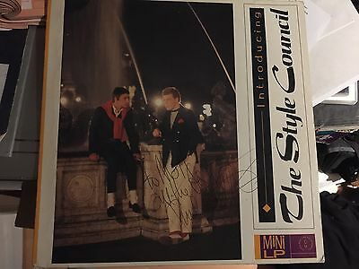 Style Council  - Introducing LP Paul  SIGNED By Paul Weller Paul The Jam