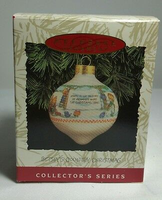 Hallmark Ornament  NEW - Betsey Clark - Country Christmas - 2nd in Series - 1993