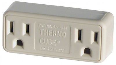 Thermo Cube Farm Innovators TC-2 Cold Weather Thermostatically Controlled Outlet