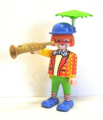 Playmobil Clown mit Schirm am Hut