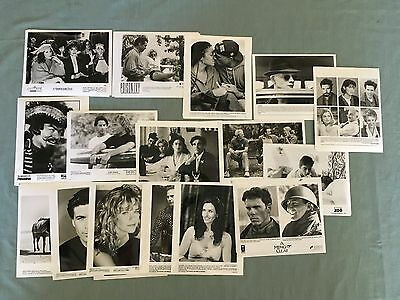 HUGE Lot of 63 Movie Press Photos kits Tupac Janet Costner ++ 80's to now