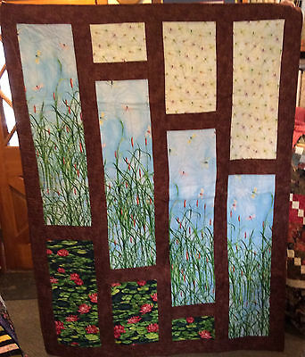 O Henry Cattails quilt