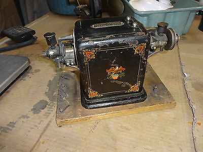 Beautiful all original victor bipolar american eagle electric motor/ converter