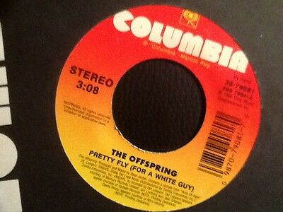 Rare  . The Offspring . Pretty Fly ( For A White Guy )  U.k. Number 1.
