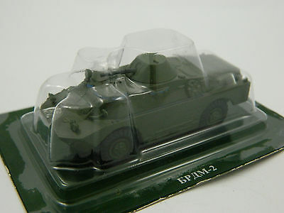 BRDM-2, Russia, 1:72nd scale diecast Tank №97 by Fabbri