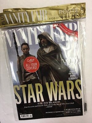 Vanity Fair Magazine Issue 683 Summer 2017 The Force Cover Star Wars Hamil Ridle