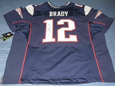 *RARE* Tom Brady Patriots Autographed Authentic Nike On-field NFL Jersey COA