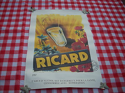 Ricard Chromolithographie Numerotee Serie Limitee 711 / 1200