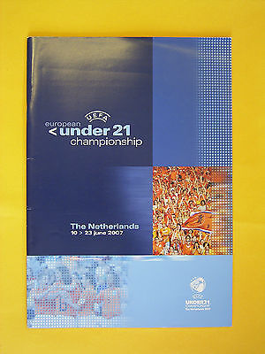 UEFA Under 21 European Championship Finals Official Programme - Holland 2007