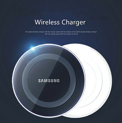 2017 Qi Wireless Charger Charging Pad Plate For Samsung Galaxy S6 S7 Edge S8 S8+