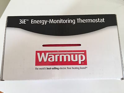 NEW Warmup 3iE energy monitoring Digital Touchscreen Thermostat