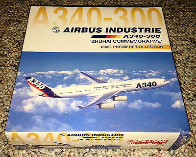 Dragon Wings 1/400 Airbus A340-300 House Color Zhuhai Commemorative