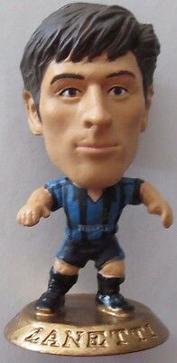 Javier Zanetti 2002 Inter Milan Football Corinthian Figure Gold Base MC905