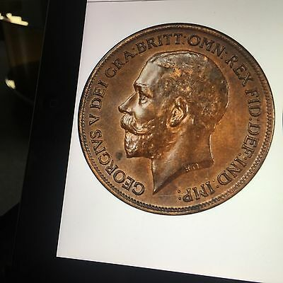 George V Penny 1918 Kn  Very Rare So Nice  Two Day Offer