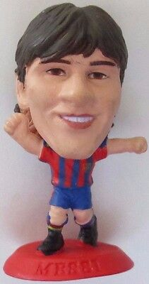 Lionel Messi 2010 FC Barcelona Football Corinthian Figure Red Base MC12518