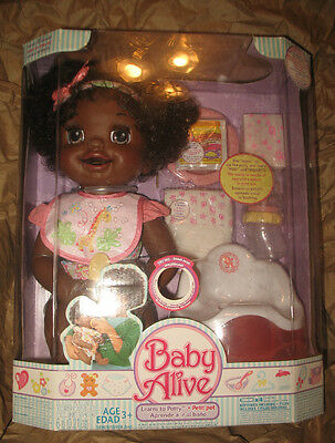 """New Baby Alive """"Learns to Potty"""" Set - Brand New, Factory Sealed"""