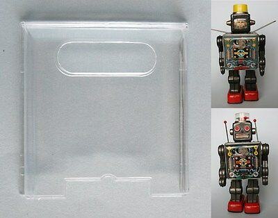 Clear Chest Lens for Horikawa Fighting Robot or Fighting Spaceman 1st version