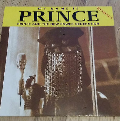 """(-0-) 12"""" Prince MY NAME IS PRINCE REMIXES VINYL GERMAN RARE Issue (-0-)"""