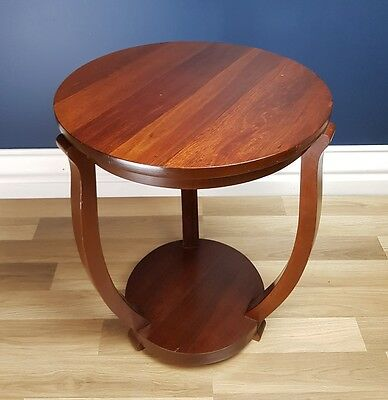 Superb Art Deco Coffee / Occasional Table. Solid Blackwood, Restored, Circa 1930