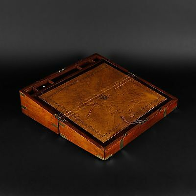 Navy writing case 19th century