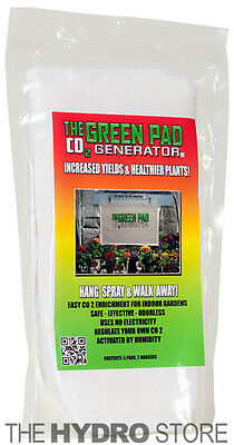 The Green Pad Co2 Generator Hydroponic Co2 Sheets Indoor Maximizer - 5 pack