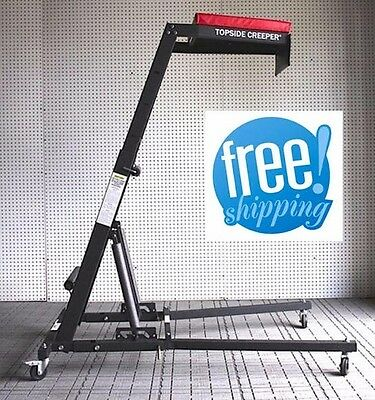 Foldable Topside Creeper Garage Mechanic Engine Ladder Car Shop Truck Tool Repai