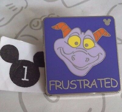 Frustrated Figment Hidden Mickey Series 3 WDW Dragon Disney Pin Buy 2 Save $
