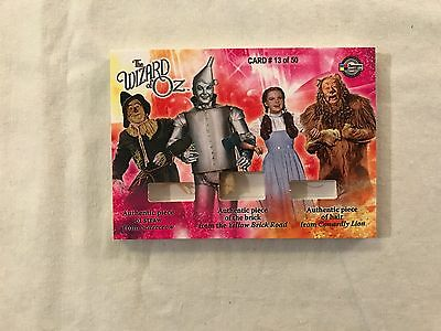 2007 Breygent Wizard of Oz Series 2 BSH # 13 of 50 Triple Prop Trading Card