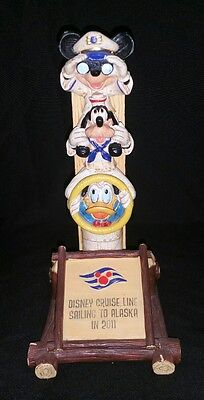 Disney Cruise line Mickey Mouse Goofy Donald Alaska figure 2011