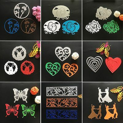 Paper Cards Craft Metal Scrapbooking Embossing Stencil Cutting Dies
