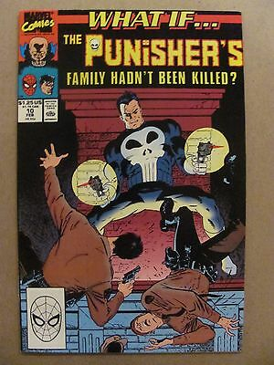 What if #10 Marvel 1989 Series The Punisher's Family Hadn't Been Killed 9.2 NM-