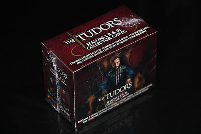 Low Price !!! 12X The Tudors Season 1+2+3 Collectible Trading Cards Set Box