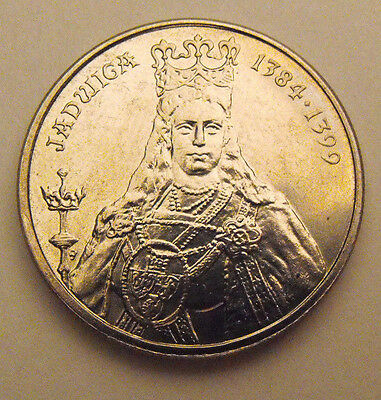 Coin Poland  Polish Queen Saint Jadwiga  Polish Monarchs ** Mint Actual Picture