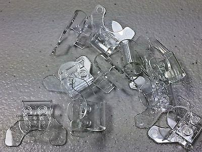 LEGO Trans Clear Minifigure Stand Flexible Super Jumper 18663 New (x10)