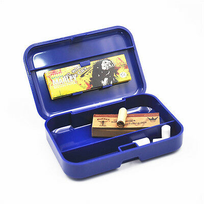 1 x Multifunction Portable Plastic Cigarette Storage case Tobacco Box