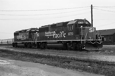 Railway Negative Southern Pacific Gp60's #'s 9770-977  Brand New London, On 1993