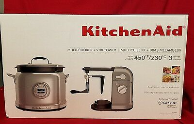 KitchenAid Multi-Cooker & Stir Tower KMC4244SS Stainless Steel FAST SHIPPING