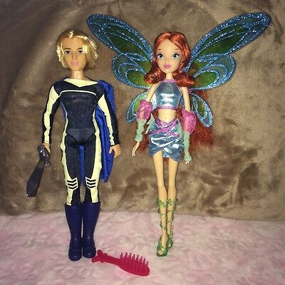 Winx Club Bloom and Sky