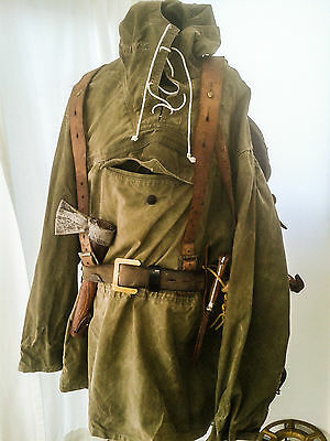 1960s vintage mountain windproof smock bushcraft camping  cool! SIZE M /  L