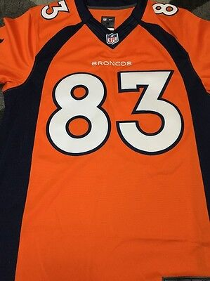 Denver Broncos - Nike Team Color Limited Jersey - Orange - Wes Welker - Men's S