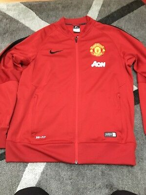 Manchester United Anthem Jacket - Men's Large - Nike - Jersey - BNWOT