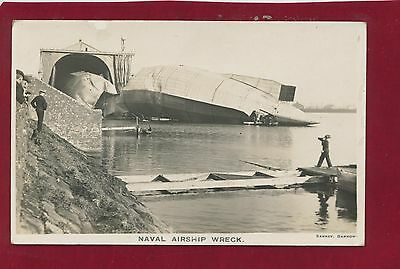 Rp Ppc Naval Airship Wreck 3.10.1911, Vickers' At Barrow In Furness (5 Z)