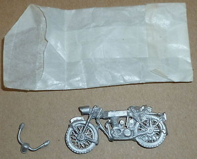 O scale motorcycle metal unmade