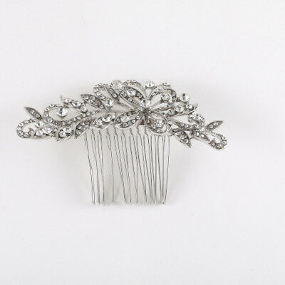 Vintage hair comb bridal wedding crystal rhinestone hair accessories ha17041
