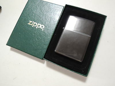 Authentic Zippo Lighter - Vintage Green Box - No Inside Guts Insert